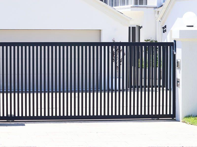 Steel-automatic-sliding-gate